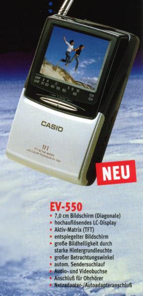 Casio ev 510